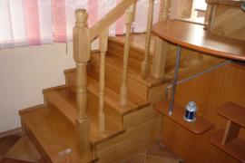 Scara lemn masiv stejar Brasov