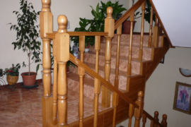 Scara lemn masiv fag Brasov