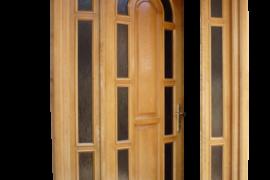 Usa lemn masiv intrare stejar Brasov
