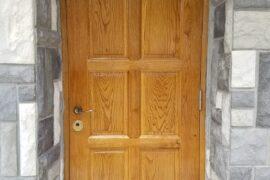 Usa lemn masiv exterior stejar 3
